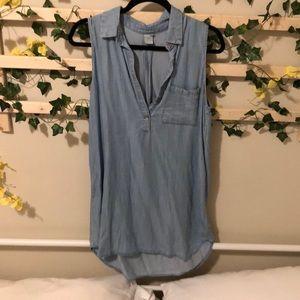 Paper Crane blue dress